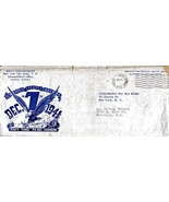 Navy Department Envelope December 7. 1942 - $2.50