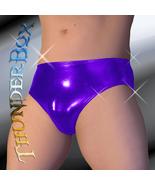 Thunderbox Chrome Metal Purple Swim, Wrestle, Poser Brief, Dancers, Cost... - $23.00