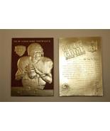 TOM BRADY AUTOGRAPHED 2000 DRAFT PICK 23KT GOLD RETRO ROOKIE CARD! TEXTU... - $19.59