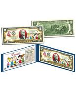 PEANUTS CHARLIE BROWN/SNOOPY & THE GANG COLORIZED LEGAL TENDER U.S. $2 B... - $22.99
