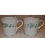Corelle Green Callaway Ivy Mugs Set of 2 - $5.95