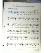 """Antique Sheet Music """"The Caissons Go Rolling Along"""" Publisher Hammond  #... - $3.49"""