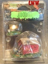 Halloween Lemax Spooky Town Village Rotten Rover Beware of Dog Doghouse  - $5.99