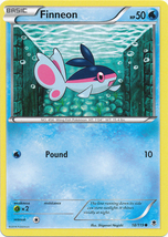 Finneon 18/119 Common Phantom Forces Pokemon Card - $0.49