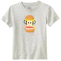 BOYS 5/6 - Paul Frank® - Julius & Friends Monkey Burger Graphic Tee SHIRT - $11.88
