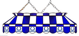 """INDIANAPOLIS COLTS NFL 40"""" BILLIARD POOL TABLE LIGHT HANGING BAR PUB TABLE LAMP - $1,099.00"""