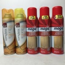 Magic Cabinet & Wood Cl EAN Er Polish 17 Oz. Hide Scratches Remove Dirt Soil X5 - $74.25