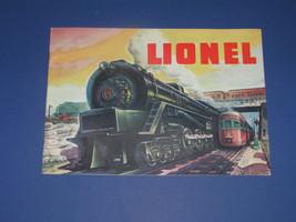 1948  LIONEL CATALOG- MINT - $50.00