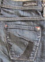 New  James Jeans Designer Kanji Stretch Low Rise Jeans Bootcut Sz 24 00 ... - $98.95