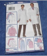 ** Sewing Pattern *Butterick 5287*  Unisex Scrubs Uniforms   UNCUT ** - $6.99