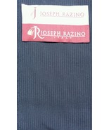 7 yard super fine Vintage Blue Gray  italian wool suit fabric - $88.60