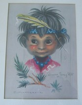 "MONTE MONTEAGUE ""INDIAN CHILDREN"" JIMMY GRAY HILL PRINT - $191.64"