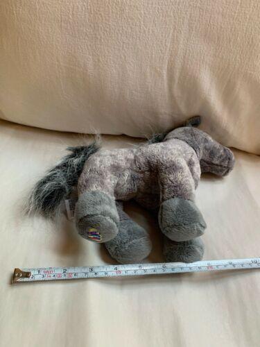 WEBKINZ Plush Gray Arabian Horse, GANZ Toy, Used, Nice Condition  image 6