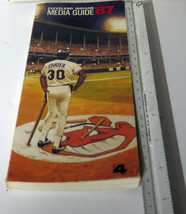 1987 Cleveland Indian's Media book  Souvenir with pics & stats NICE shape! - $13.95