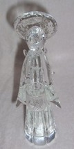 MURANO CRYSTAL SCULPTURED ANGEL GLASS ART ITALY  - $191.64