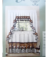 "Cafe Kitchen Curtain Panels     Size: 60"" wide (pair) and 24"" long  #5041 - $9.79"