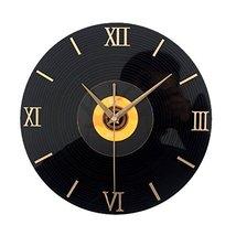 "Alien Storehouse Retro 3D CD Style Nostalgia Wall Clock 12"" Orange - $65.12"
