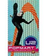 U2 - Popmart [VHS] [VHS Tape] (1998) Bono; Adam Clayton; Larry Mullen Jr... - $3.95