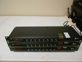 Lot of 3 Cybex Avocent Switchview SC180 8-Port KVM Switches - $51.99