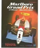 Marlboro Grand Prix of Miami March 5th, 1995 Ke... - $93.50
