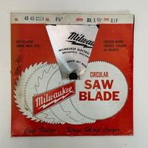 "BRAND NEW Vintage Milwaukee USA 8.25"" Rip Saw Blade #48-40-0024 - $25.71"