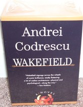 WAKEFIELD Audio Book By Andrei Codrescu NEW! 10 HOURS ON 6 TAPES! - $9.96