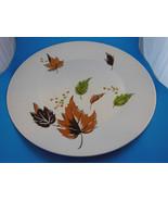 "Harmony House Vintage Japan 12"" Serving Plate Iron Stone HARVEST Leaves ... - $10.39"
