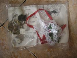 diy 1980s vintage 4 christmas xmas ornaments supplies lot set teddy bear... - $24.99