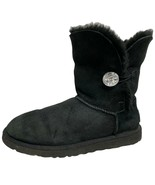 UGG Bailey women's winter boots one button bling black size US 9 - $52.80