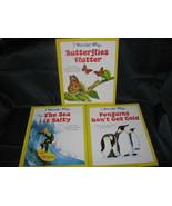 3 I Wonder Why Reader's Digest Science Series Penguins, Butterflies, Sea - $8.99