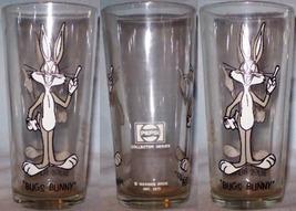Pepsi Collector Series Glass 1973 Bugs Bunny Brockway LOS BL 16oz - $8.00