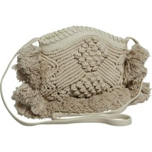 NWT Anthropologie Cleobella Handwoven Macrame Crossbody Bag  - $81.97