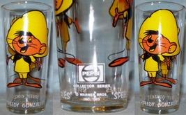 Pepsi Collector Series Glass 1973 Speedy Gonzales Brockway LOS WL 16oz - $8.00