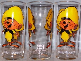 Pepsi Collector Series Glass 1973 Speedy Gonzales Federal LOS WL 16oz - $10.00