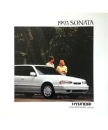1993 Hyundai SONATA sales brochure catalog US 93 GLS - $6.00