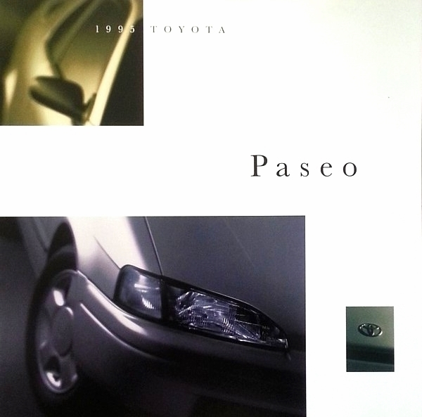 1995 Toyota PASEO sales brochure catalog 2nd Edition US 95