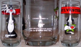 Pepsi Glass Warner Bros Star in Head Sylvester Arby's Logo - $10.00