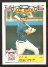 1987 Topps Glossy All Star Baseball Card # 7 Atlanta Braves Dale Murphy ... - $0.99