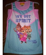 Chipettes Pajamas sz 10/12 NeW Pjs Set Shirt Top Shorts Alvin and The CHIPMUNKS