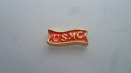 Red USMC Marines Gold Floating Charm for your Origami Owl Living Locket - $4.89