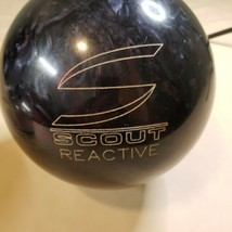 Columbia 300 Scout Reactive Bowling Ball Purple Sparkle Swirl 13.8 Pound  - $29.69