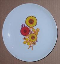 NAAMAN PORCELAIN HANDPAINTED POPPY FLOWER SIDE PLATE - $31.73