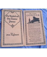 For the Poetry Lover - Rare Vintage Boook - One Hundred & One Famous Poems  - $5.00