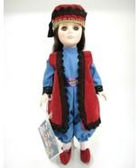 """Effanbee International Doll Turkey Traditional Outfit 11"""" Sleep Eyes w S... - $15.04"""