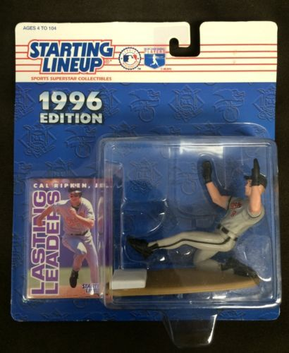 Primary image for Kenner Starting Lineup MLB Baseball 1996 Baltimore Orioles Cal Ripken Jr Figure