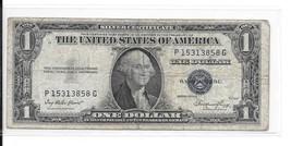 $ 1.00 - 1935 E Silver Certificate - # 13858 G - $3.84