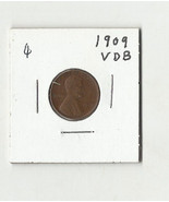 1909 VDB Lincoln Wheat Cent - # 31011-0850-4 - $15.36