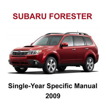 2009 Subaru Forester Factory Oem Year Specific Service Repair Workshop Manual - $14.95