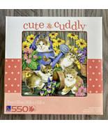 CUTE AND CUDDLY - Garden Mischief! - 550 Piece Jigsaw Puzzle - $8.60