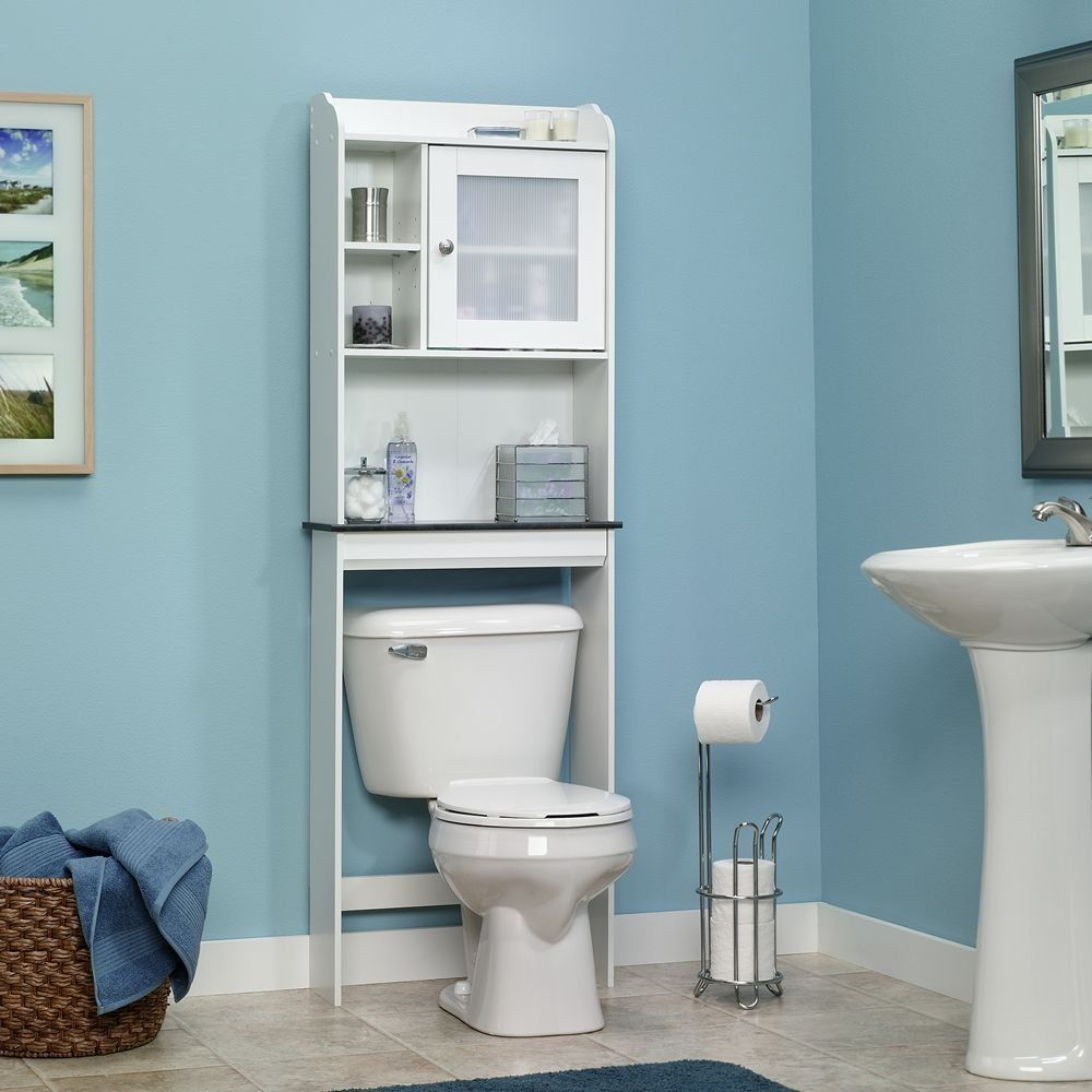Over The Toilet Storage Bathroom Caddy Shelf and similar items